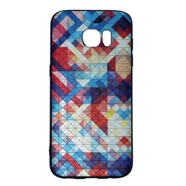 Chequer - Stereoscopic Relief Art 3D Case (Samsung S7 Edge)