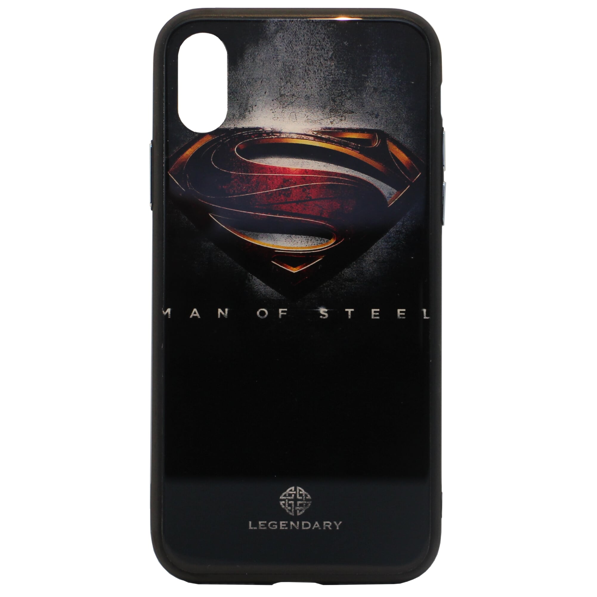 Superman Tempered Glass Case (iPhone X) - Chikili.com