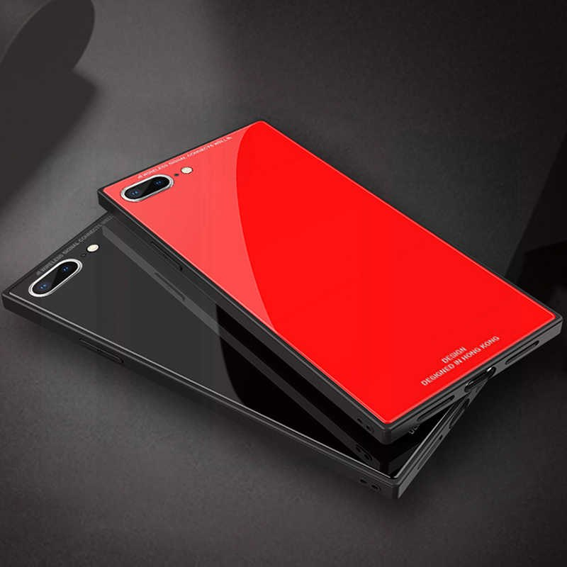 Tempered Glass Case (iPhone 8 Plus)