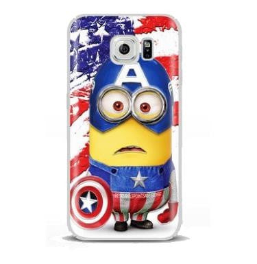 Minion Captain America (Samsung S7 Edge)