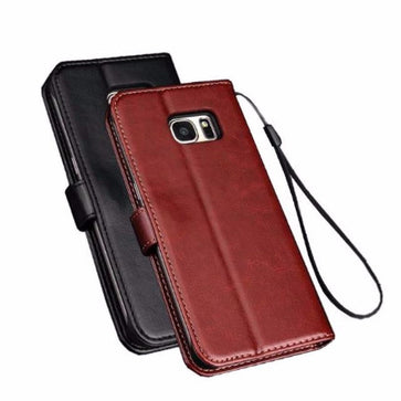 Flip Wallet Coque Cover Case (Samsung S7 Edge)