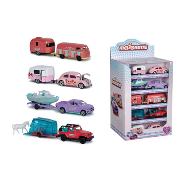 Majorette Girlmazing Trailer Display, 4-asst