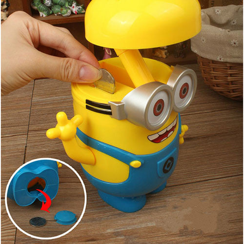 Minion Night Lamp and Money Bank