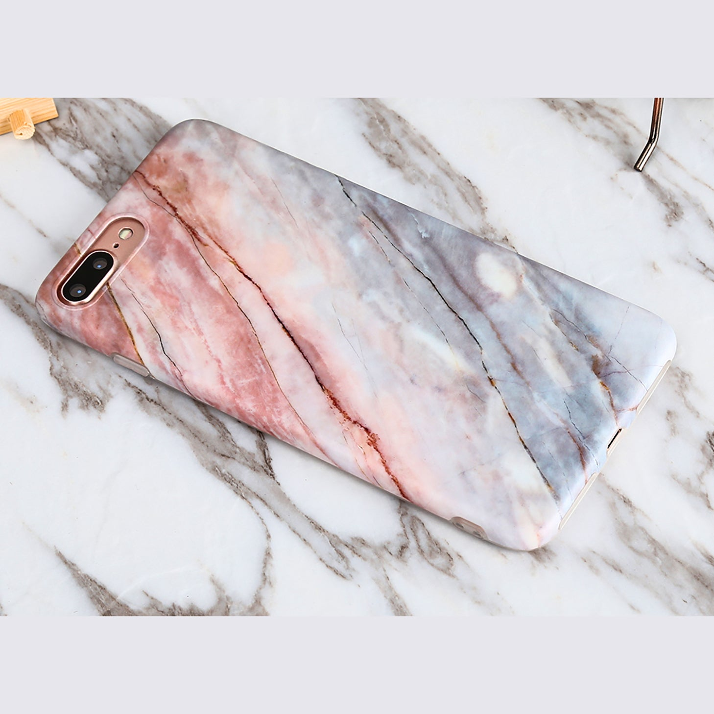 Marble Stone Case ( iPhone 7 plus )