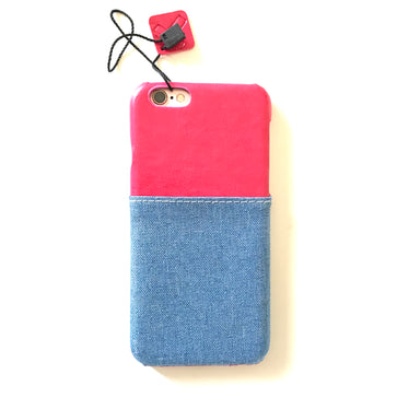 Denim Card Holder Case ( iPhone 6 Plus )
