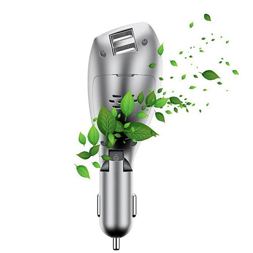 Car Charger with Headset and Freshener