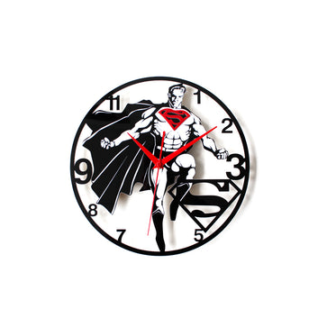 Superman Funky Clock
