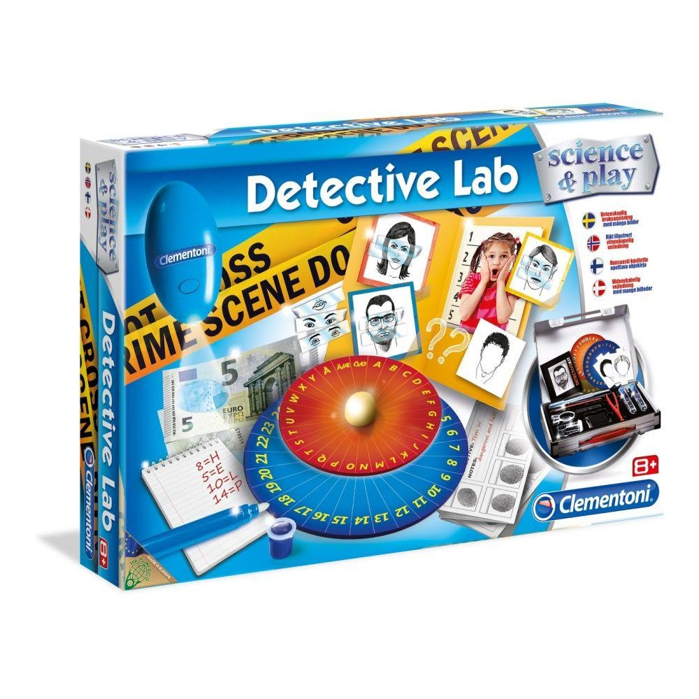 Science & Game Detective Lab
