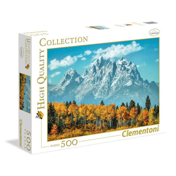 Clementoni Ap the Grand Teton in Fall 500 PCs Puzzle