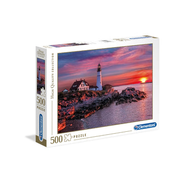 Clementoni Ap Portland Head Light 500 PCs Puzzle