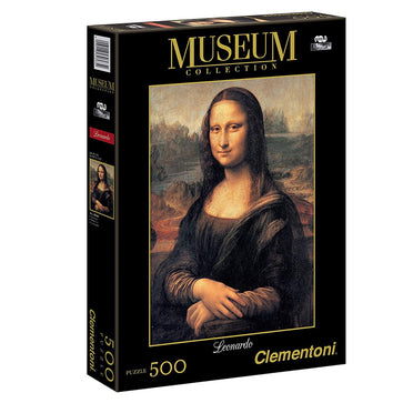 Clementoni Mp Monalisa-Great Museum 500 PCs Puzzle