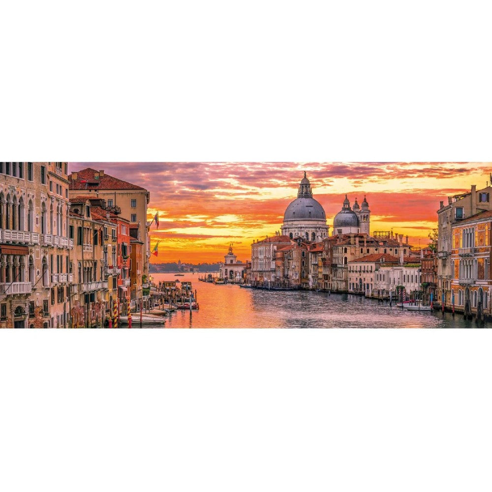 Clementoni Panorama The Grand Canal Venice Puzzles 1000Pcs