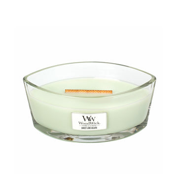 Woodwick Ellipse Jar Sweet Lime Gelato