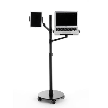 Rolling Adjustable Laptop & Tablet Stand