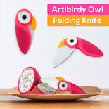 Artibirdy Owl Folding Knife
