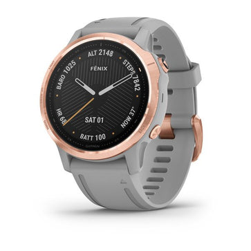 Garmin Fēnix 6S - Pro Sapphire Editions Rose Gold with Powder Grey 010-02159-21