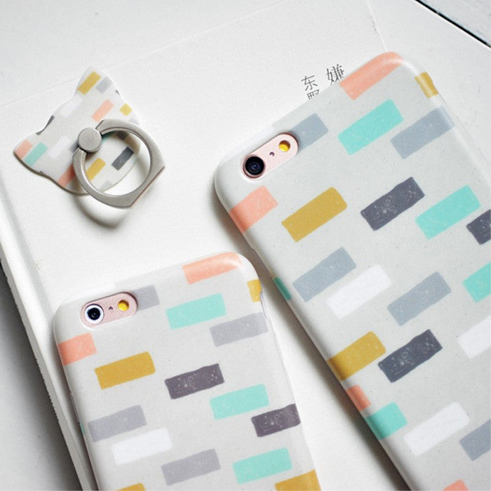 Kitten Case Stripes Gift Set (iPhone 6)