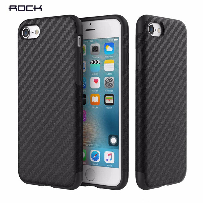 Rock Fiber Case With Metal Plate (iPhone 7) - Chikili.com