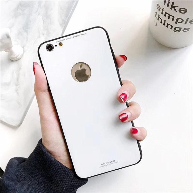 Azure Tempered Glass Case (iPhone 8)