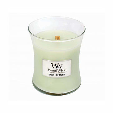 Woodwick Medium Jar Sweet Lime Gelato