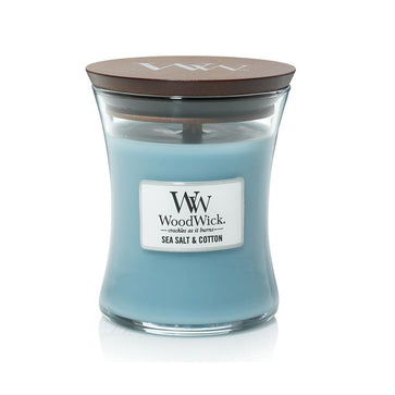 Woodwick Medium Jar Sea Salt & Cotton