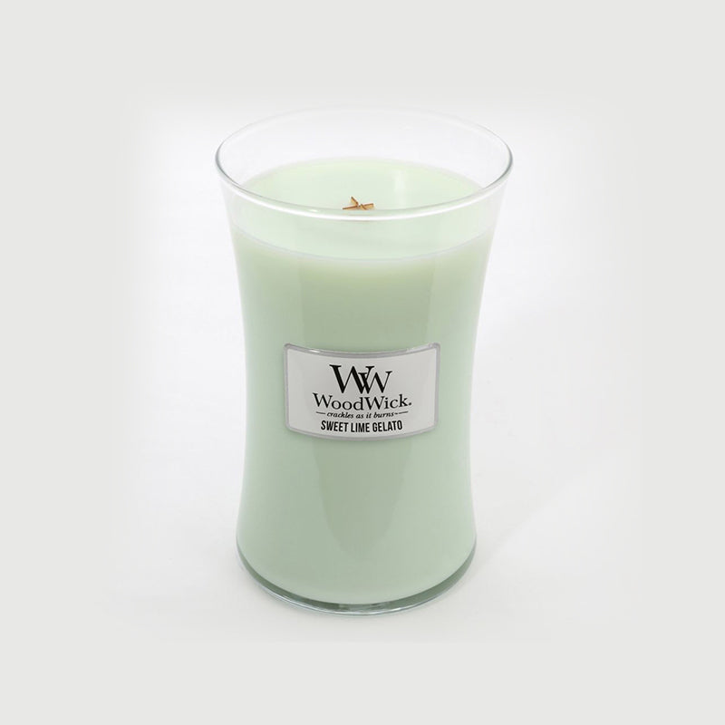 Woodwick Large Jar Sweet Lime Gelato