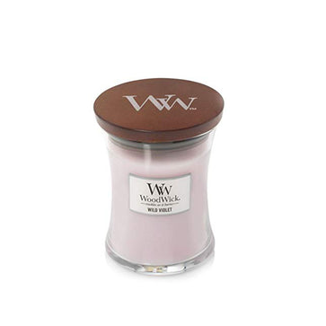 Woodwick Medium Jar Wild Violet