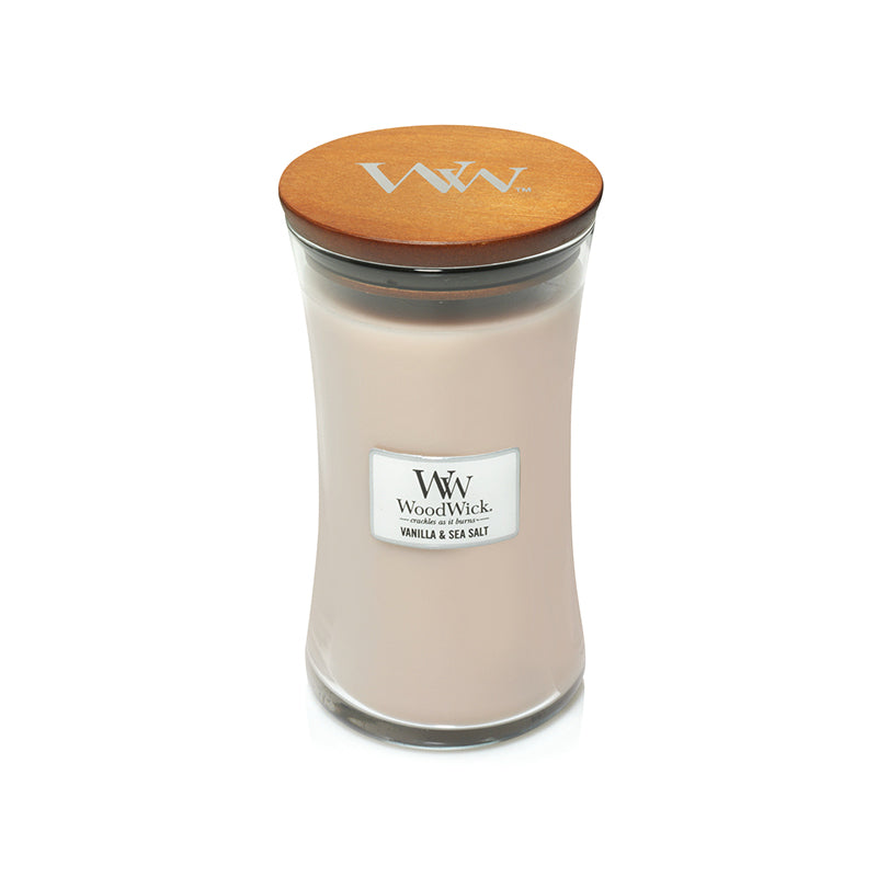 Woodwick Large Jar Sea Salt Vanilla