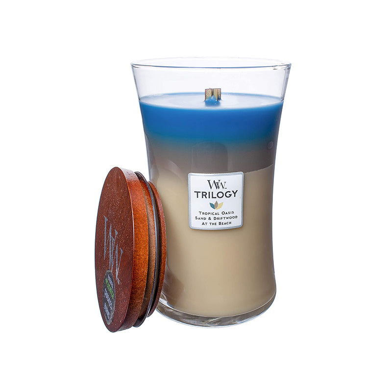 Woodwick Trilogy Large Nautical Escape