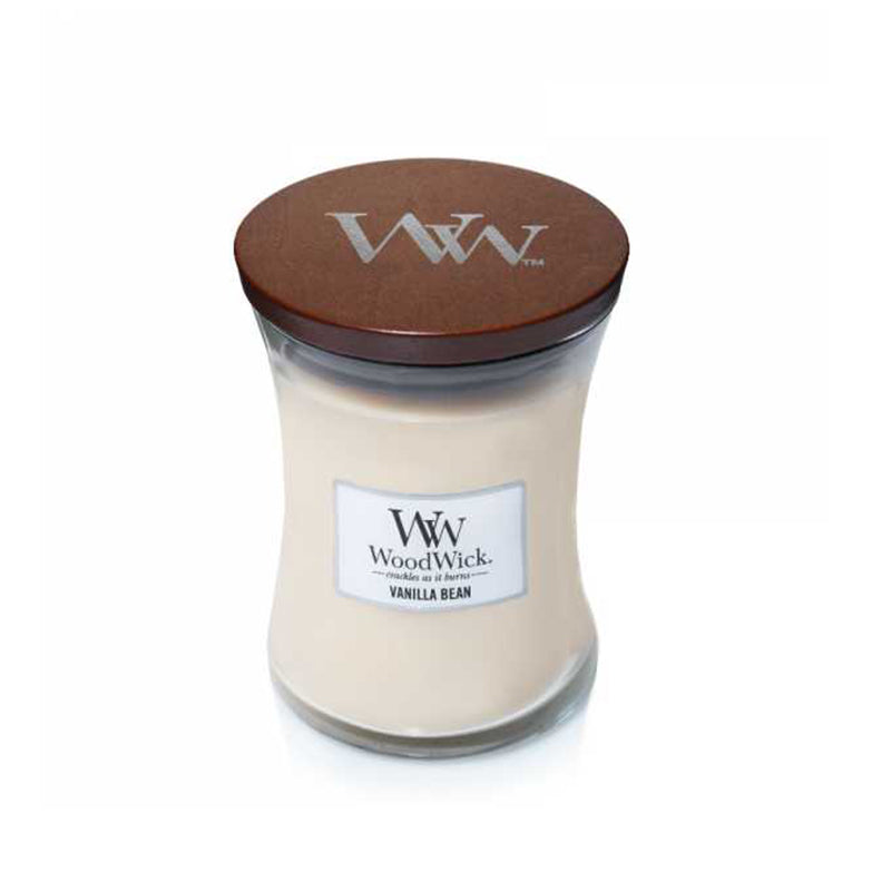Woodwick Medium Jar Vanilla Bean