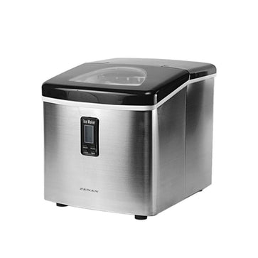 Zenan Ice Maker ZIM-15SA Stainless Steel