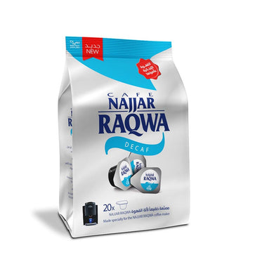 Najjar Raqwa Coffee Blends Capsule Bag
