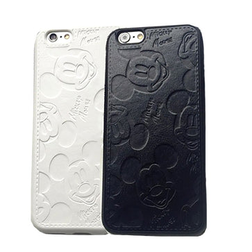 Mickey Mouse Leather Case (iPhone 8)