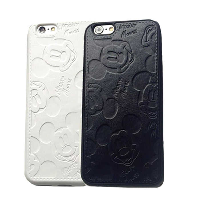 Mickey Mouse Leather Case (iPhone 6 Plus)