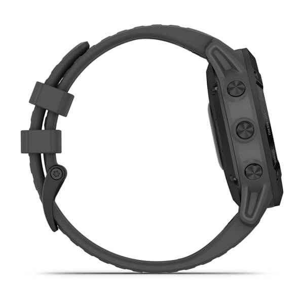 Garmin Fēnix 6 - Pro Solar Edition Black with slate grey band 010-02410-11