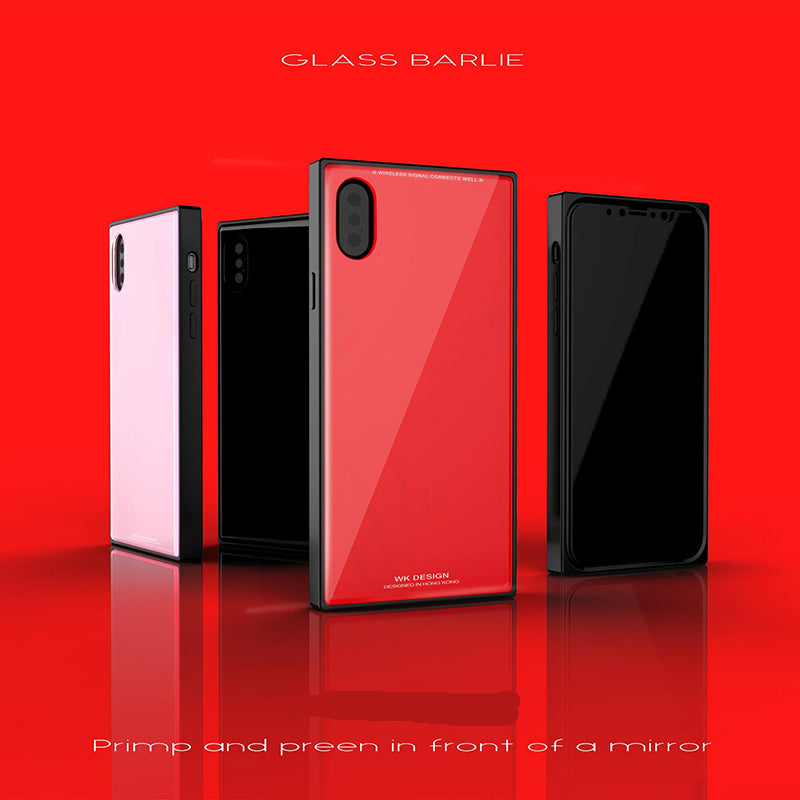 Tempered Glass Case (iPhone X)
