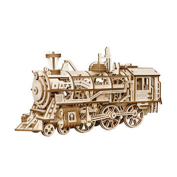 Robotime Locomotive Train 3D Wooden Puzzle