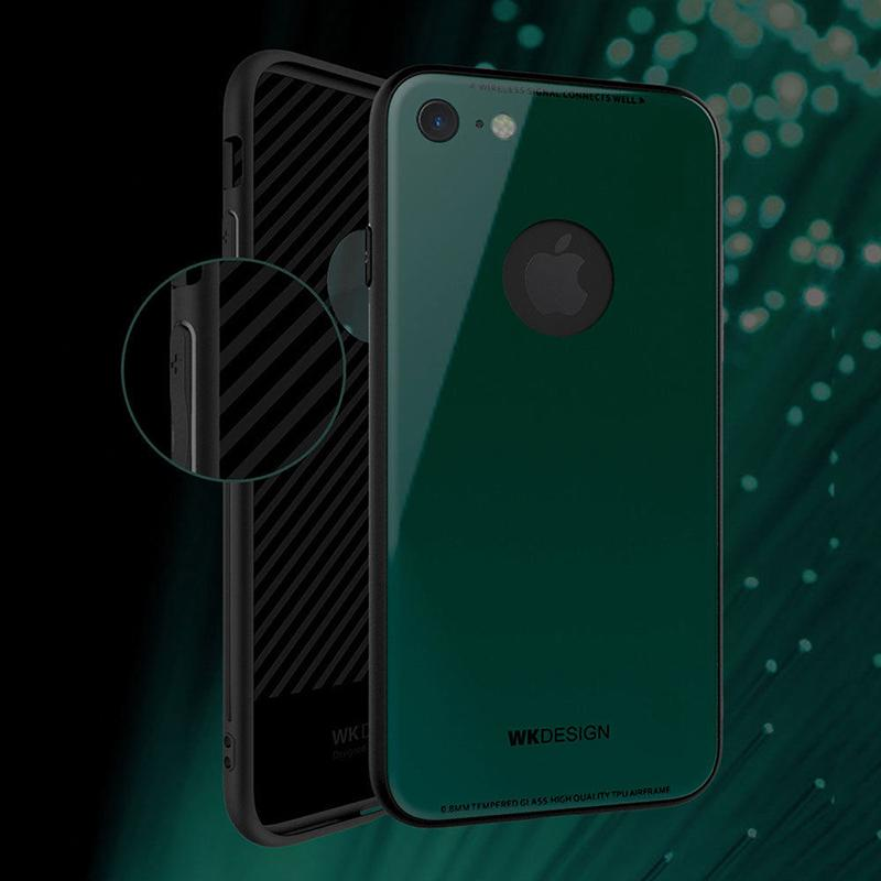 Azure Tempered Glass Case (iPhone 6)