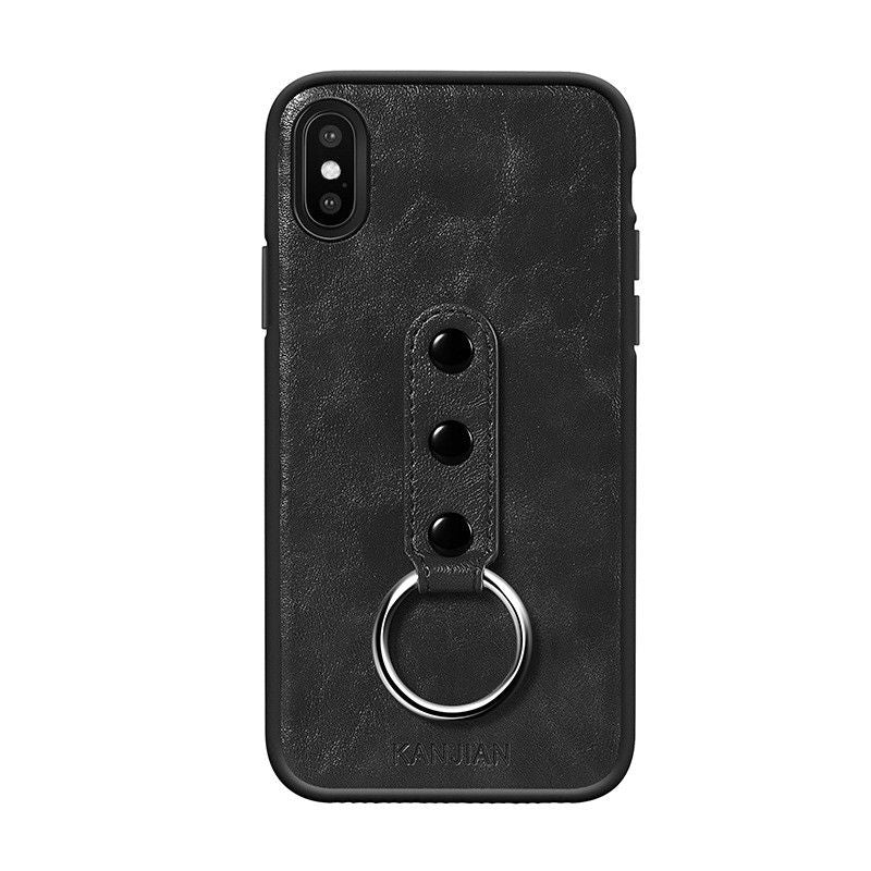 Leather Case with Ring Stand (iPhone X)