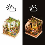 Robotime Miller's Garden DIY House Kit