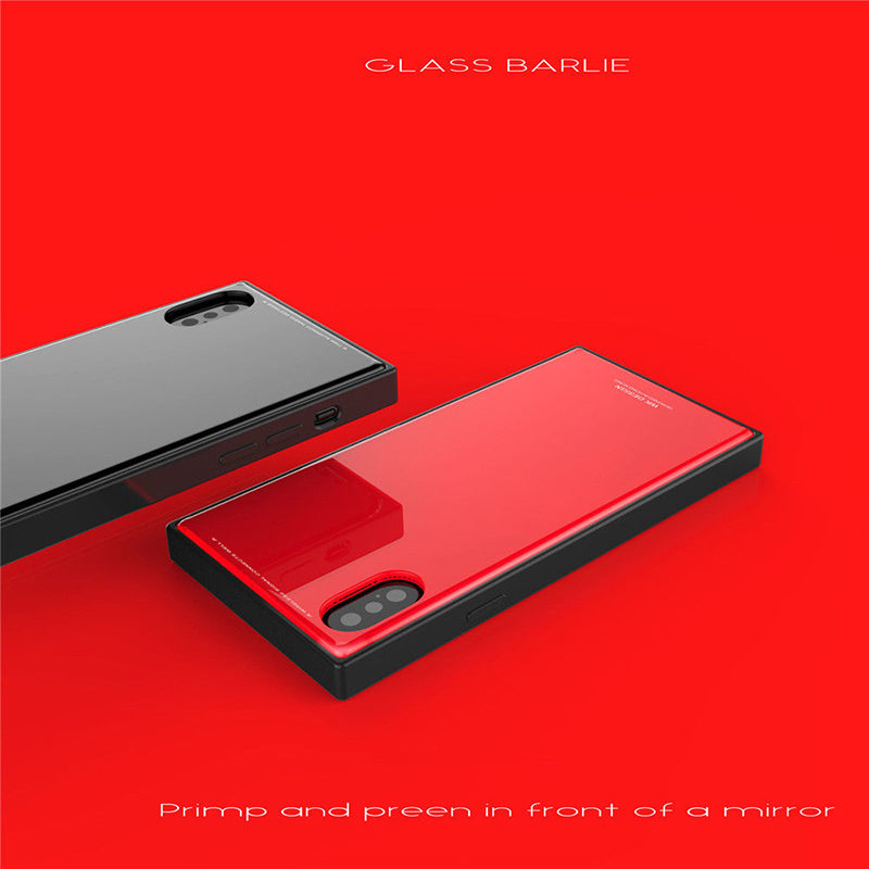 Tempered Glass Case (iPhone X) - Chikili.com