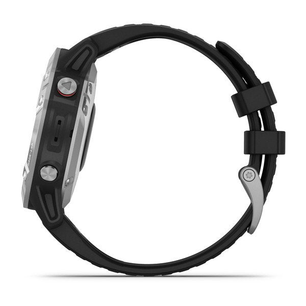 Garmin Fēnix® 6S - Silver with Black Band 010-02158-00