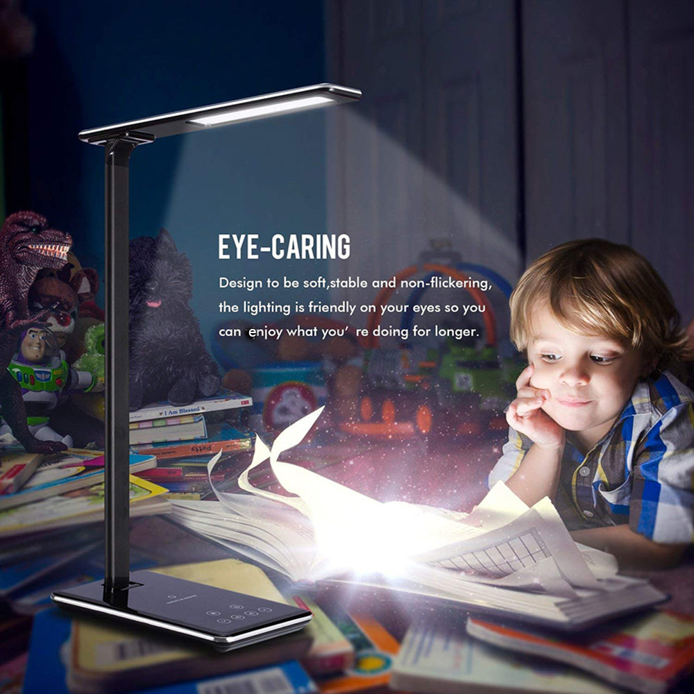 LED Desk-lamp With Wireless Charger