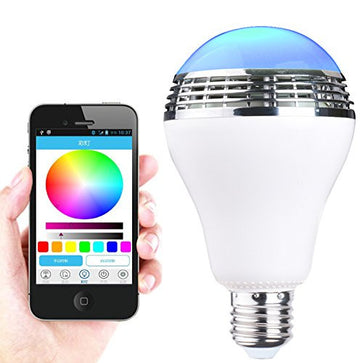 Bluetooth Smart LED Bulb with Speaker