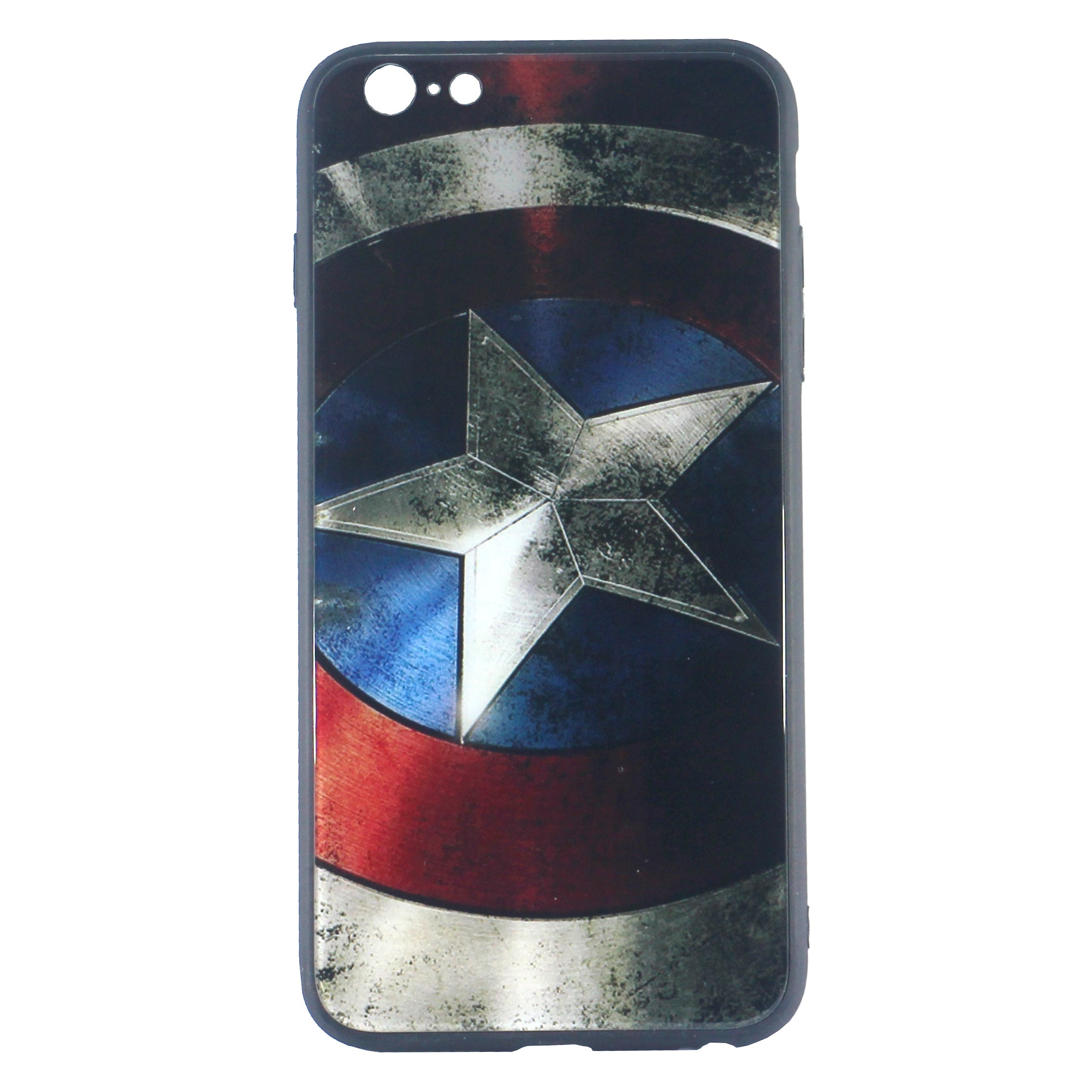 Captain America Tempered Glass Case (iPhone 6)