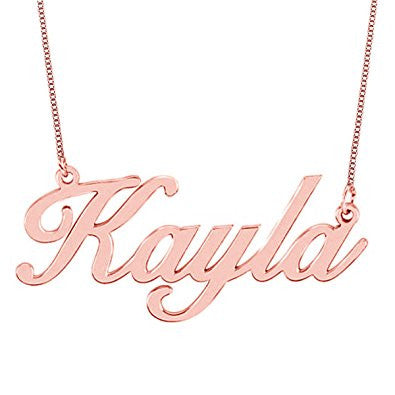 Personalized Necklace (Rose Gold Plated)
