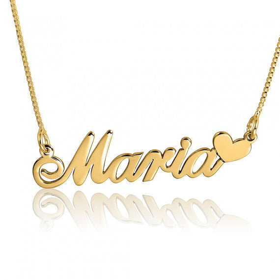 Personalized Necklace (24K Gold Plated)