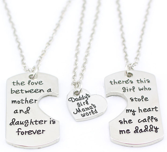 FREE Daddy's Girl Mama's World Necklace
