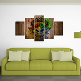 Hogwarts Wall Paint Canvas