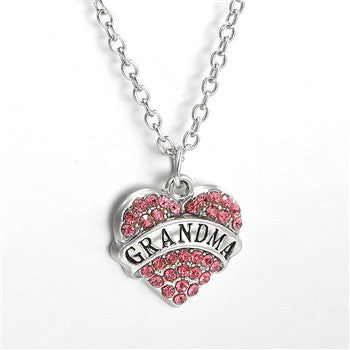 Grandma Crystal Necklace